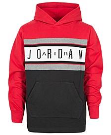 Big Boys Colorblocked Air Jordan Cotton Hoodie