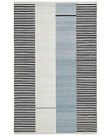 Aryn Stripe LRL7310C Slate Area Rug Collection
