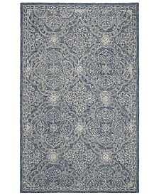 Etienne LRL6603M Blue and Ivory Area Rug Collection