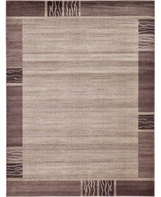 Lyon Lyo1 Light Brown 9' x 12' Area Rug