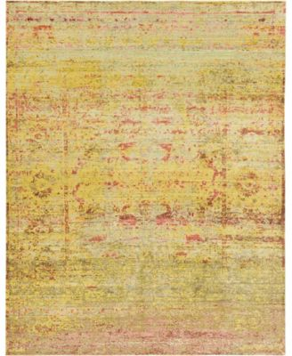 Malin Mal8 Yellow 10' x 13' Area Rug