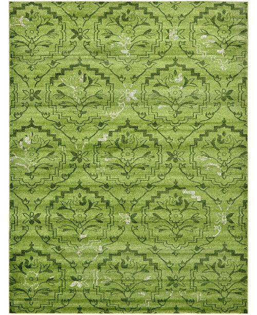 Bridgeport Home Felipe Fel1 Green Area Rug Collection
