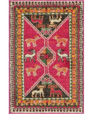 CLOSEOUT! Arcata Arc7 Pink 7' x 10' Area Rug