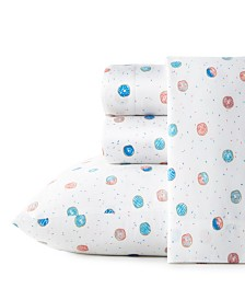 Poppy & Fritz Polka Donuts Queen Sheet Set