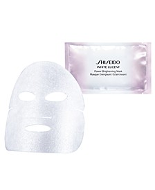 White Lucent Power Brightening Mask, 6 count