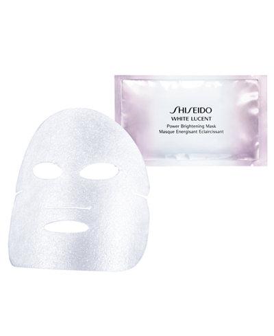 Shiseido White Lucent Power Brightening Mask, 6 count