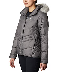 Peak To Park Insulated Faux-Fur-Trim Jacket