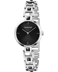 Women's Mesmerize Stainless Steel Bracelet Watch 32mm