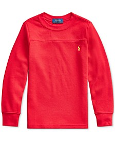 Little Boys Waffle Knit Thermal