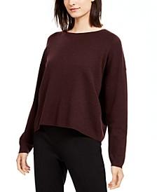 Crewneck Merino Wool Sweater, Regular & Petite