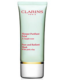Clarins Truly Matte Pure and Radiant Mask, 1.7 oz.