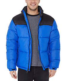 Halifax Men's Colorblocked Puffer Jacket