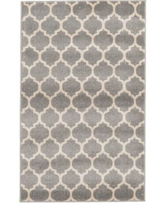 Arbor Arb1 Dark Gray 8' x 10' Area Rug