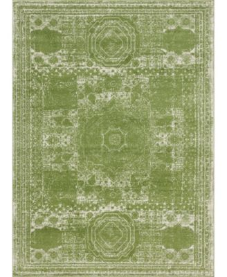Mobley Mob2 Green 8' x 8' Round Area Rug