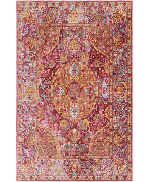 Bridgeport Home Malin Mal2 Red Area Rug Collection