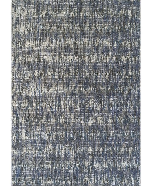 D Style Weekend Wkd6 Denim Area Rug Collection
