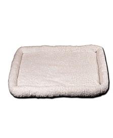 "Ultra Soft Sherpa Bed 23""x36"", Crate Cushion"