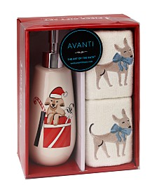 Avanti Holiday Dogs 3-Pc. Box Set
