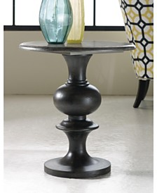 Melange Hadley Pedestal Table