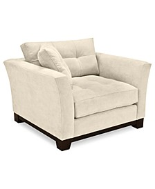 """Michelle 45"""" Fabric Living Room Chair, Created for Macy's"""