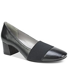 Vivian Block-Heel Pumps