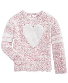 Little Girls Heart Sweater, Created For Macy's