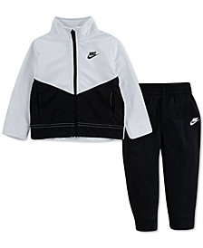 Nike Little Boys 2-Pc. Colorblocked Jacket & Jogger Pants Set
