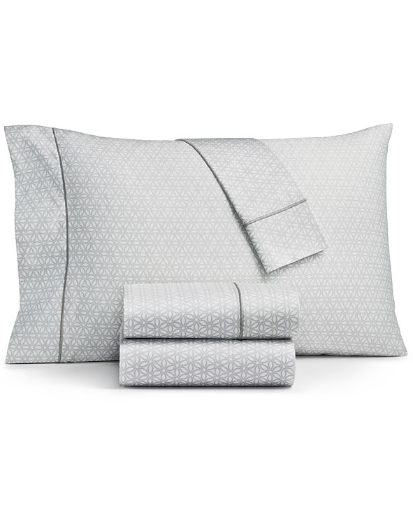 Sunham Fairfield Square Collection Waverly Cotton 450-Thread Count 6-Pc. Full Sheet Set