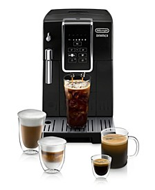 Dinamica Automatic Coffee & Espresso Machine with Iced Coffee, TrueBrew Over Ice Black