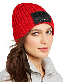 Fleece-Lined Knit Beanie