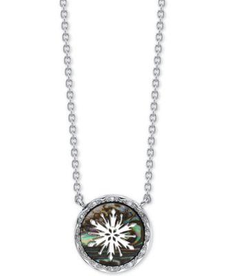 Frozen Bezel Necklace 16