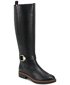 Tommy Hilfiger Women's Frankly Tall Riding Boots