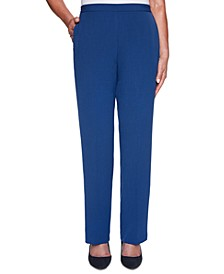 Sapphire Skies Proportioned Crepe Pants