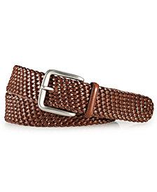 Polo Ralph Lauren Men's Accessories, Savannah Braided Leather Belt