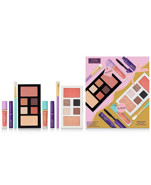 Tarte 8-Pc. Gilded Gifts Makeup Collector's Set