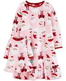 Carter's Toddler Girls 2-Pc. Santa & Matching Doll Nightgown