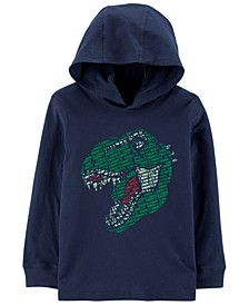 Little & Big Boys Hooded Dinosaur Cotton T-Shirt