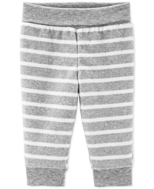 Baby Boys Stripe Fleece Pants