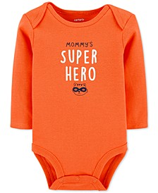 Baby Boys Mommy's Super Hero Collectible Bodysuit