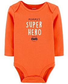 Carter's Baby Boys Mommy's Super Hero Collectible Bodysuit