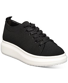 INC Women's Gardin Lace-Up Fly Knit Sneakers, Created for Macy's