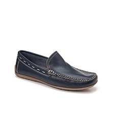 Whip Stitch Moc Toe Slip-On