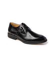 Plain Toe Monk Strap Slip-On