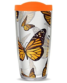 Monarch Butterflies Double Wall Insulated Tumbler, 16 oz