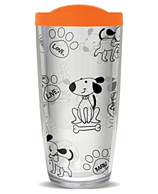 Live Love Bark Double Wall Insulated Tumbler, 16 oz