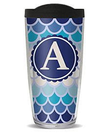 Scallop Pattern - A Double Wall Insulated Tumbler, 16 oz