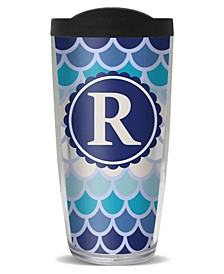 Scallop Pattern - R Double Wall Insulated Tumbler, 16 oz
