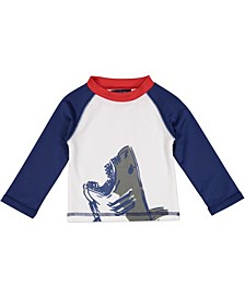 Baby Boy's Shark Rashguard T-Shirt