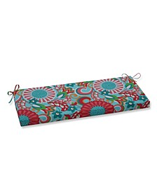 """Sophia Floral 18"""" x 45"""" Outdoor Bench Cushion"""
