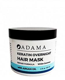 Zion Health Adama Minerals Keratin Hair Mask, White Coconut with Argan Oil
